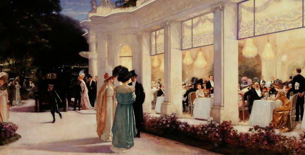 7. Paris 1900 carousel